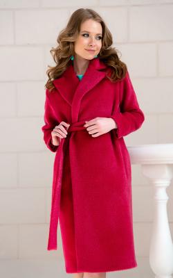 женское пальто из альпаки фото 9