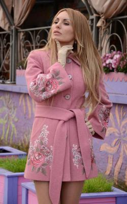 женское пальто из альпаки фото 10