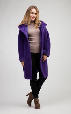 женское пальто из альпаки фото 11