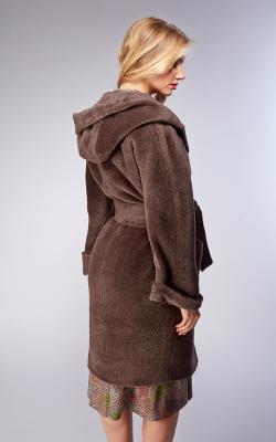 женское пальто из альпаки фото 12