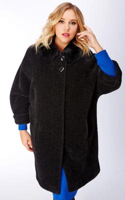 женское пальто из альпаки фото 13