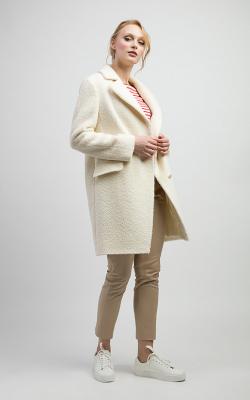 женское пальто из альпаки фото 14