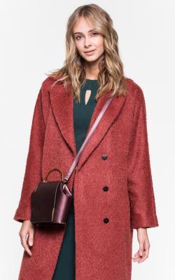 женское пальто из альпаки фото 15