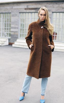 женское пальто из альпаки фото 17