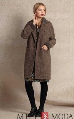 женское пальто из альпаки фото 18