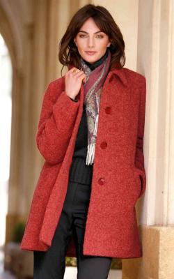 женское пальто из альпаки фото 19