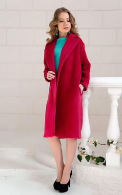 женское пальто из альпаки фото 20