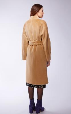 женское пальто из альпаки фото 21