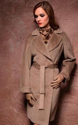 женское пальто из альпаки фото 25