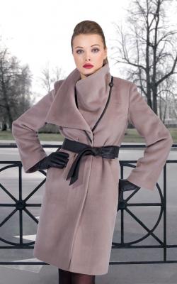 женское пальто из альпаки фото 26
