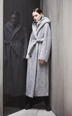 женское пальто из альпаки фото 27
