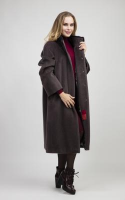 женское пальто из альпаки фото 22