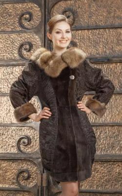 пальто из каракуля9