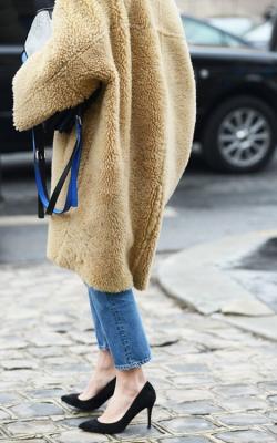 пальто оверсайз с чем носить фото 2