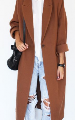 пальто оверсайз с чем носить фото