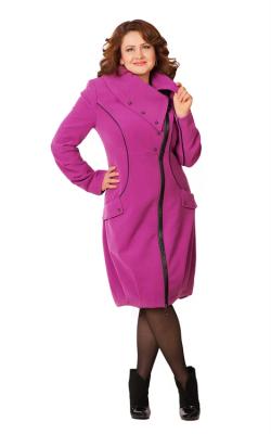 Женское пальто на молнии фото13