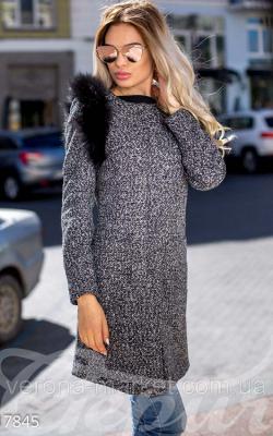 Женское пальто на молнии фото 4