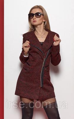 Женское пальто на молнии фото 5