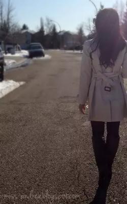 как красиво завязать пальто9
