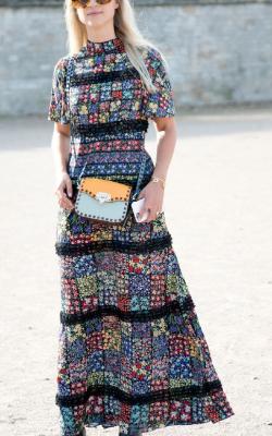 Платье в стиле петч ворк фото 1