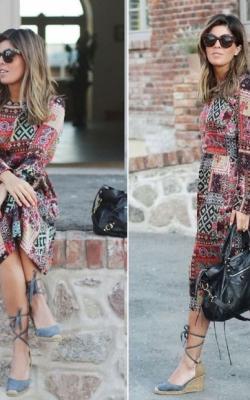 Платье в стиле петч ворк фото 2