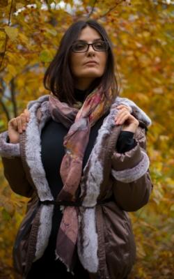 Женская пихора зима 2