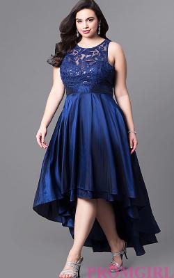 Модели платьев для полных 2018 фото 5