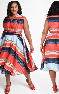 Модели платьев для полных 2018 фото 6