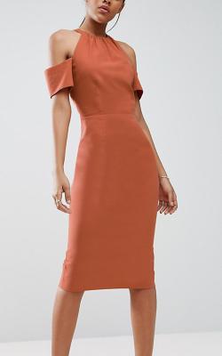 Офисное платье футляр - фото 3