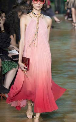 Платье градиент фото 1