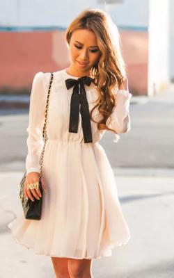 Платье с бантом 11
