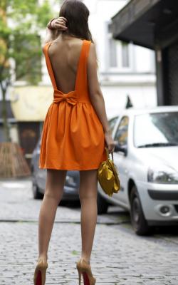 Платье с бантом 14