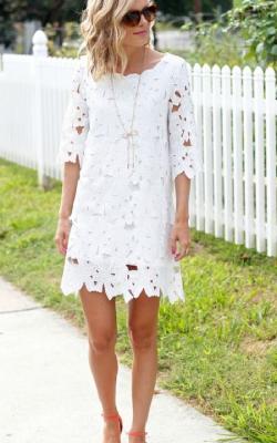 Кружевное платье фото 4