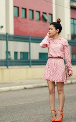 Кружевное платье фото 5