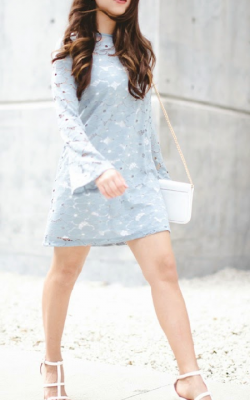 Кружевное платье фото 6