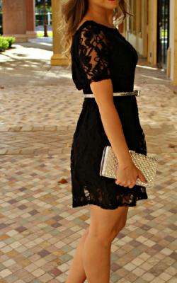 Кружевное платье фото 8