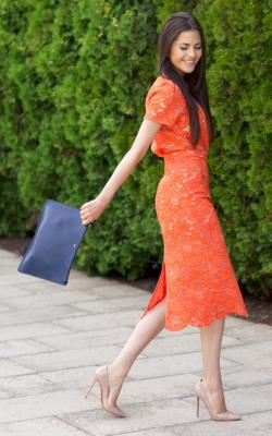 Кружевное платье фото 9