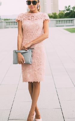 Кружевное платье фото 11