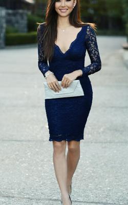 Кружевное платье фото 12
