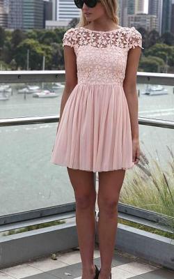 Платье с кружевным верхом 2