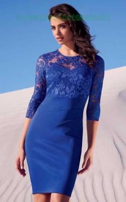 Платье с кружевным верхом 4