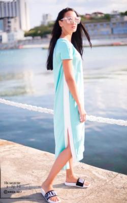 Платье с лампасами фото 3
