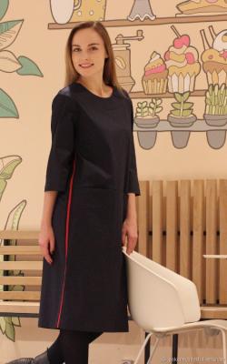 Платье с лампасами фото 8
