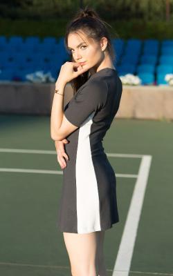 Платье с лампасами фото 9