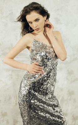Платье с паетками фото 2