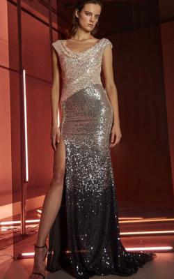 Платье с паетками фото 3