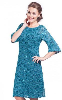 Платье с рукавом-коловолом фото 2