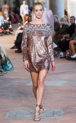 Платье в стиле металлик фото 1