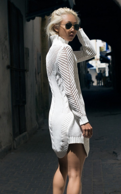Платье вязаное 2018-2019 фото 1