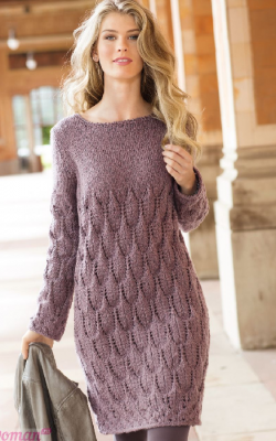 Платье вязаное 2018-2019 фото 2